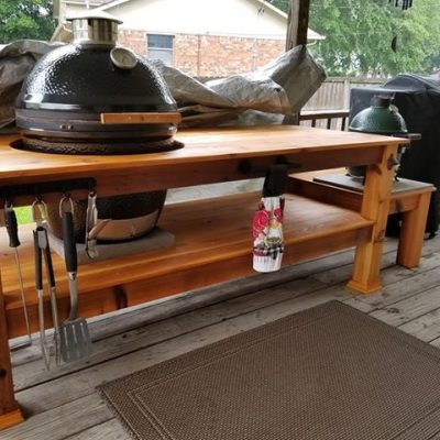 Kamado Joe Grill Table