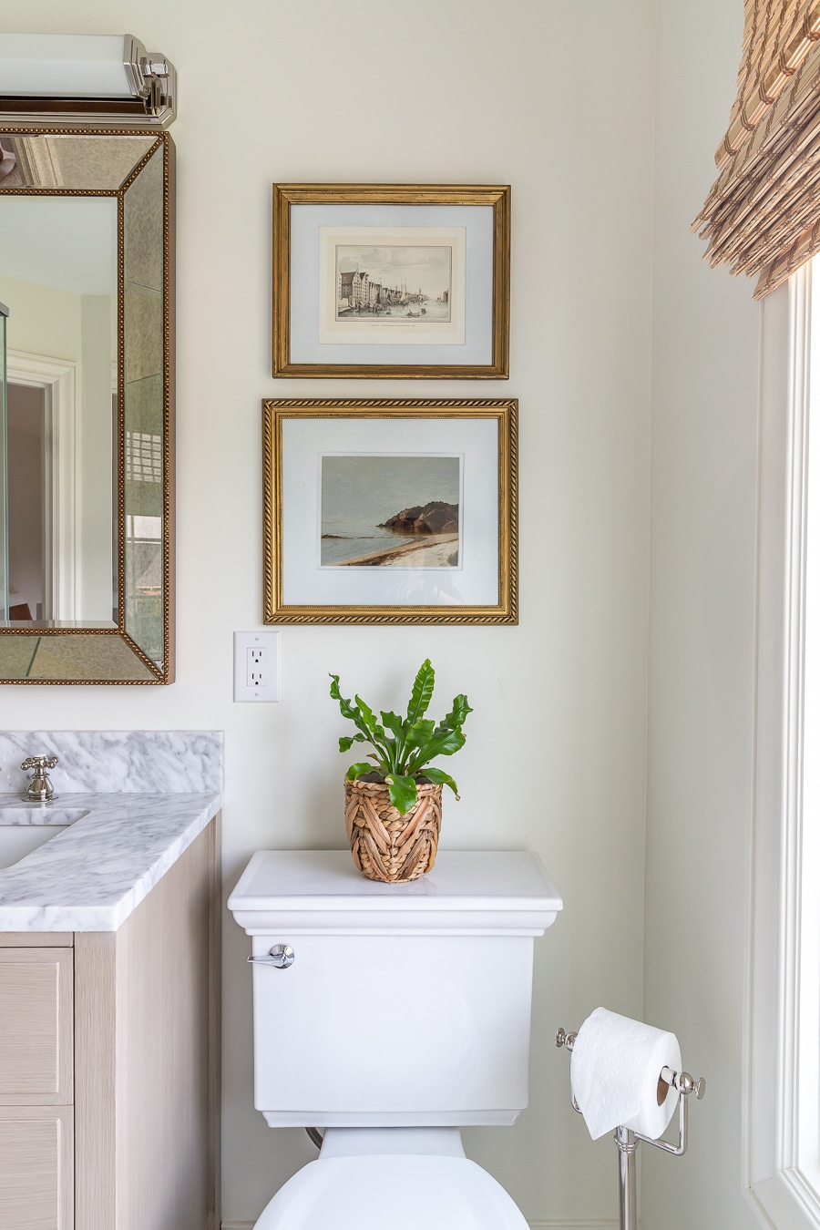 Classic and timeless bathroom design