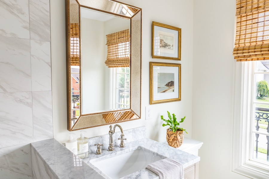 Beautiful small bathroom renovation modern and traditional