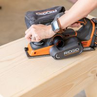 Ridgid Cordless Hand Planer Tool Review