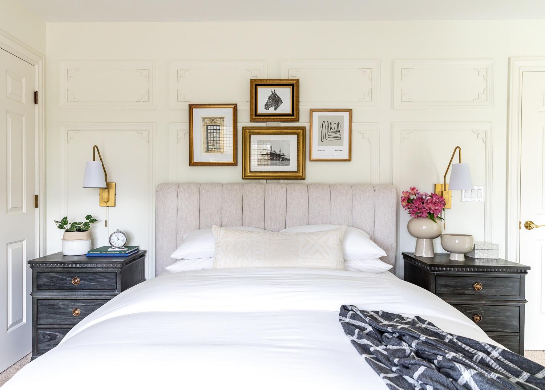 Beautiful guest bedroom transformation