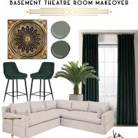 Basement Theater Room: Design Plans!
