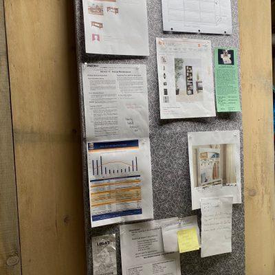 Bulletin/Pin Board