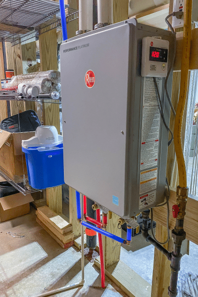 Why we switched from a storage water heater to a tankless water heater