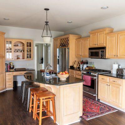 We Have Our Kitchen Cabinet Design!