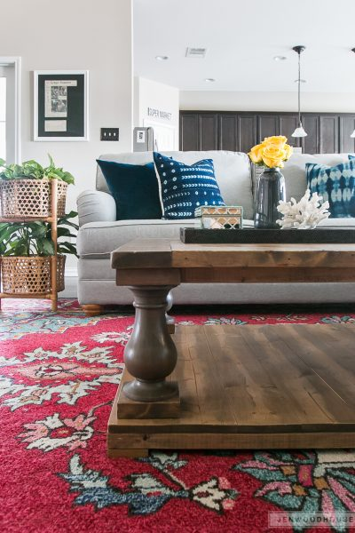 How to build a DIY Restoration Hardware-inspired Balustrade Coffee Table