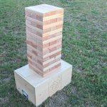Outdoor Block Stacking Yard Game