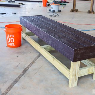 Easiest DIY Bench Ever!