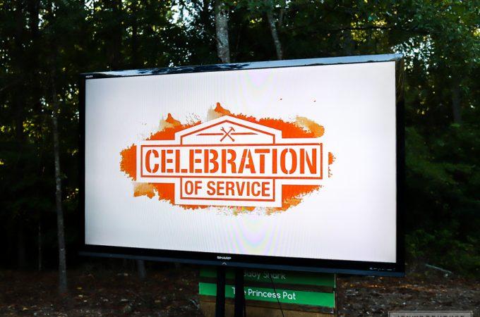 The Home Depot Foundation Celebration of Service Event