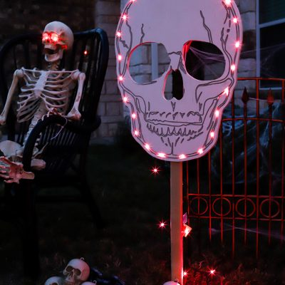 Halloween Skull Yard Signs