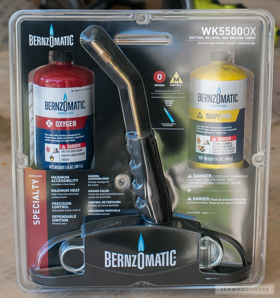 Bernzomatic Cutting Brazing Welding Torch Kit