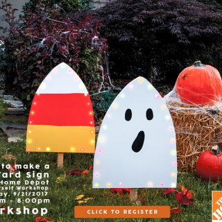 The Home Depot DIH Workshop: Harvest Yard Sign