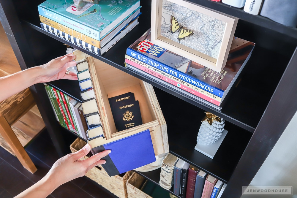 Secret hiding place - this hidden book storage box is perfect for hiding small valuables.