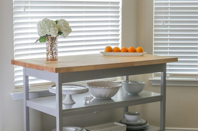 How to build a DIY kitchen island fit for a chef