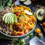 Easy Veggie Quinoa Bowl
