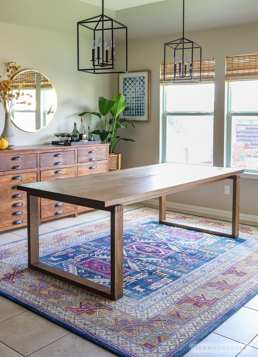 How To Build A Modern Box Joint Dining Table