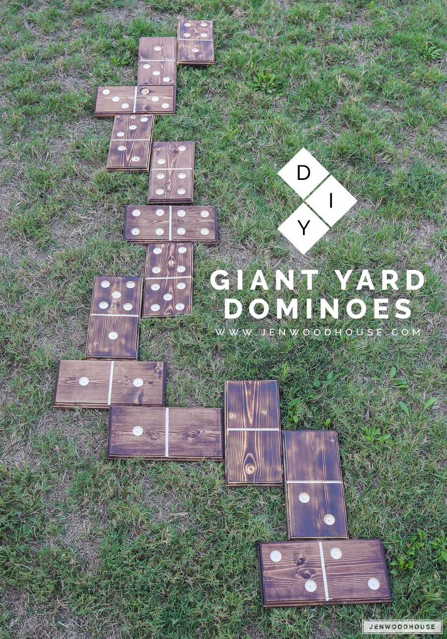 Diy Lawn Dominoes The House Of Wood