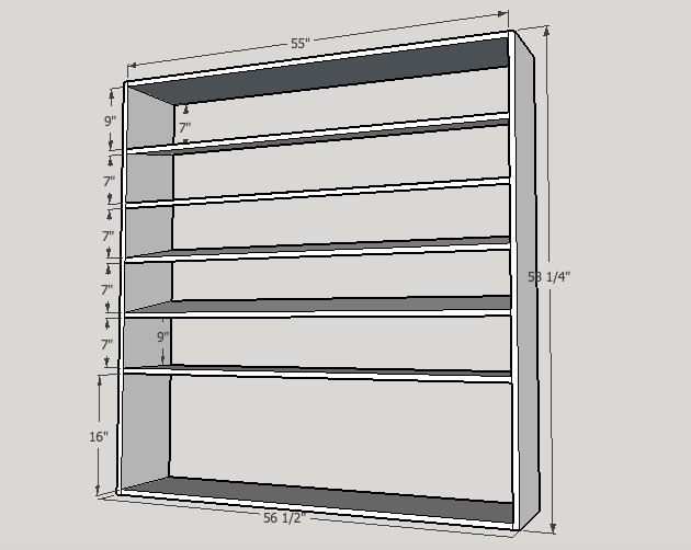 large shoe rack building plans - Shoe Rack Plans