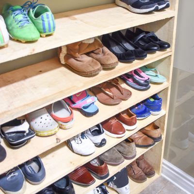 Super-Sized Shoe Rack