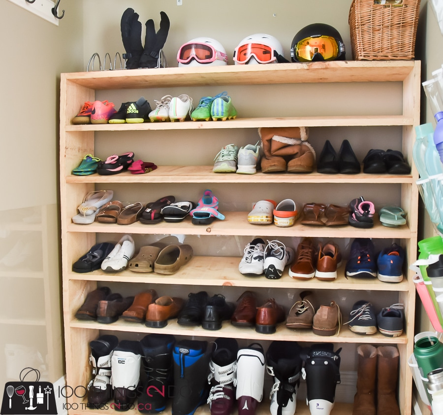Super sized shoe rack by Shelly on Jenwoodhouse.com