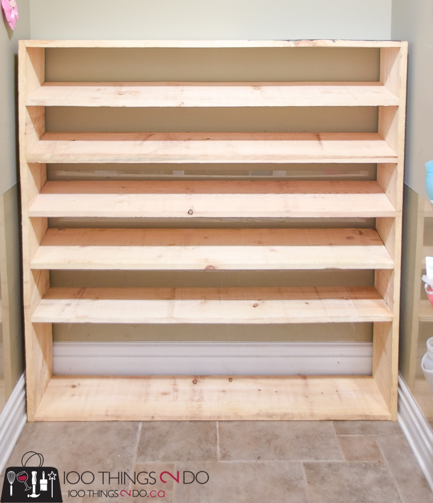 Large Shoe Rack, Super Sized Shoe Rack, Oversized Shoe Rack, DIY Shoe