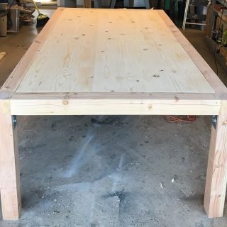 Chunky Modern Dining Table