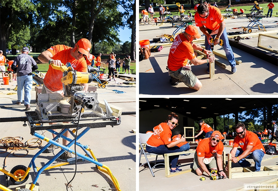 The Home Depot Foundation Celebration of Service Event at Camp Southern Ground