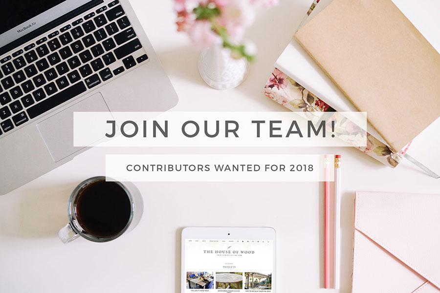Call For 2018 Contributors!
