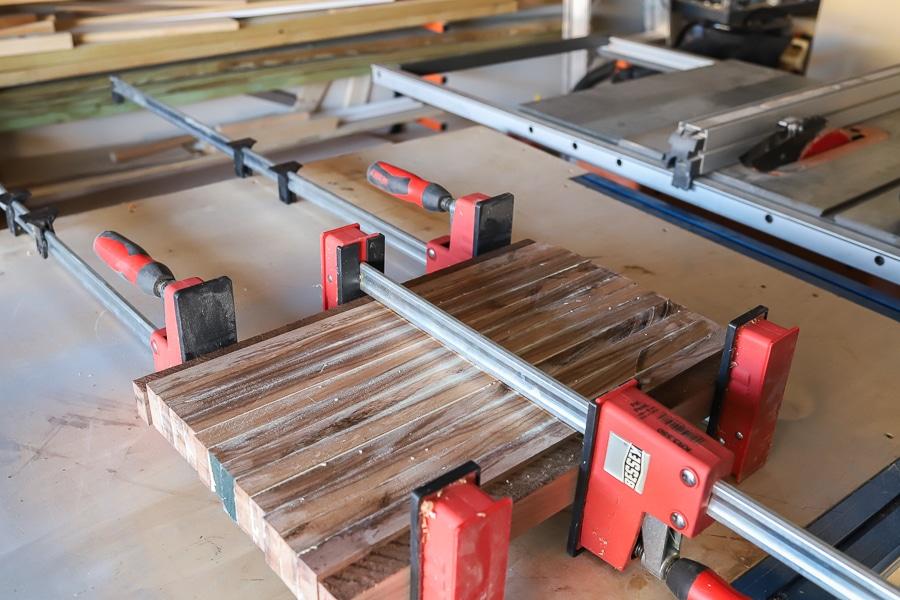 How to make an edge grain cutting board