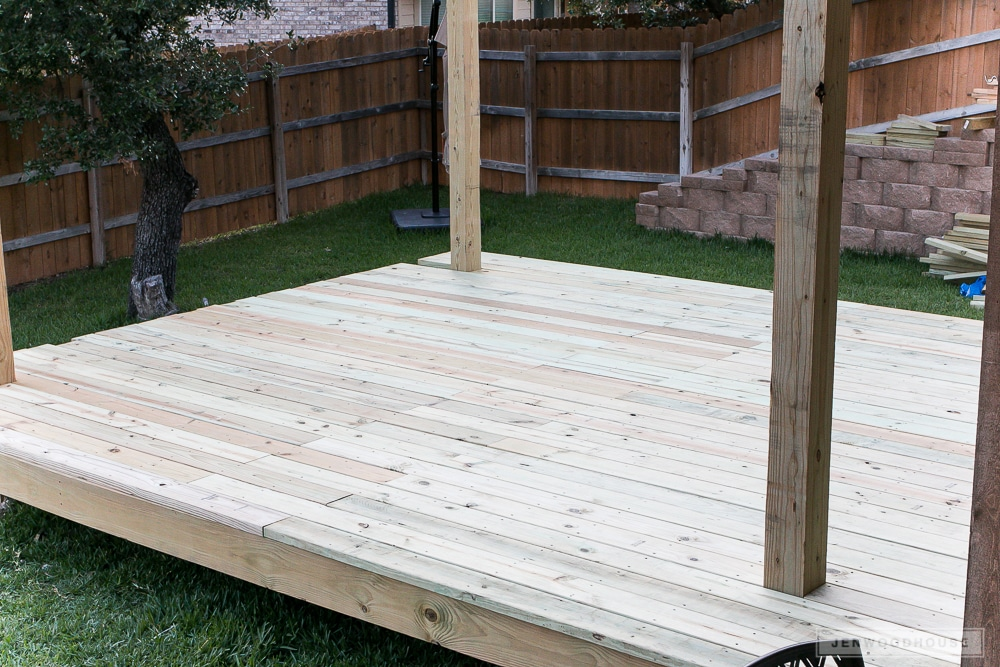 Floating deck how-to