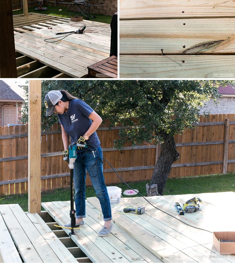 Do It Yourself Home Design: Diy-floating-deck-08