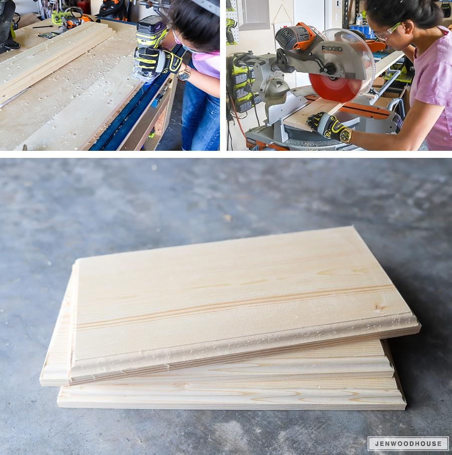 How to make DIY yard dominoes