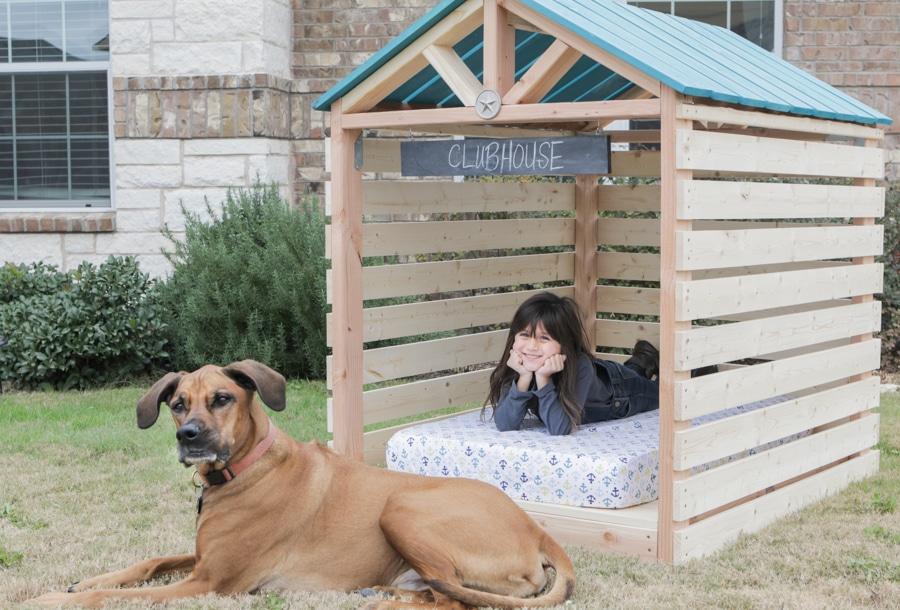 Doghouse gazebo dogzebo plans