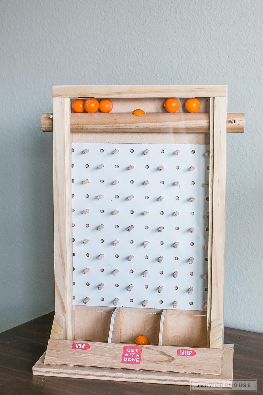 How to make a DIY plinko game candy dispenser