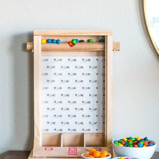 How to make a DIY plinko game that's a fun candy dispenser